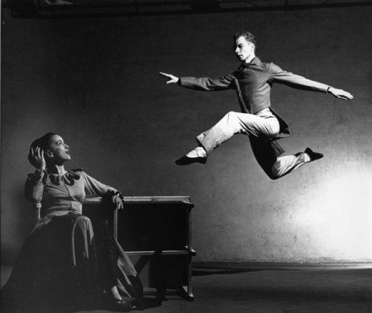 Merce-Cunningham-Martha-Graham